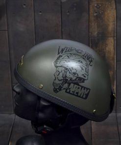 Mũ bảo hiểm nửa đầu bulldog