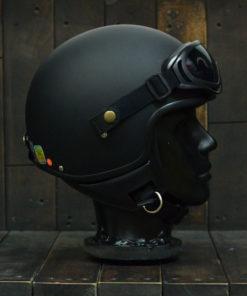 Mũ bảo hiểm Andes Đài Loan đen nhám