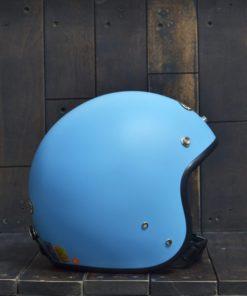 Mũ bảo hiểm 3/4 andes xanh biển