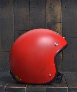 Mũ bảo hiểm andes 3/4 đỏ nhám