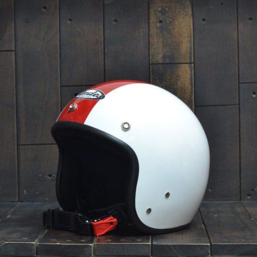 Mũ bảo hiểm 3/4 andes sọc đỏ