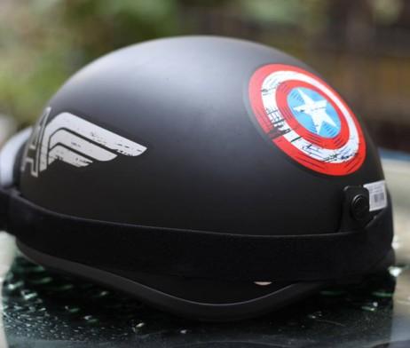 mũ bảo hiểm captain america