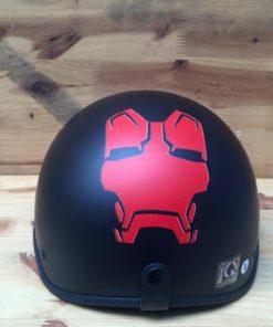 Mũ bảo hiểm nửa đầu ironman