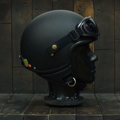 Mũ bảo hiểm ANDES đen nhám