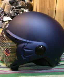 mũ bảo hiểm grs A33k tím than