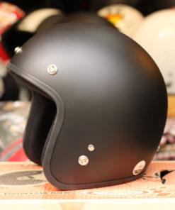 Mũ bảo hiểm dammtrax Thái Lan đen nhám