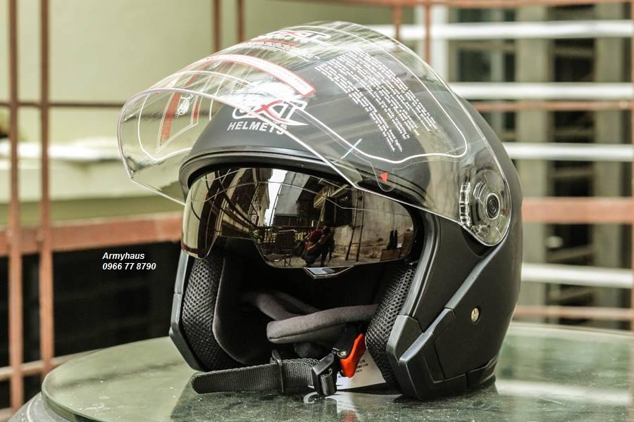 Mũ bảo hiểm có kính GXT đi phượt