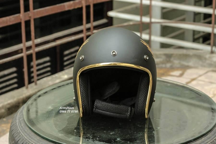 Mũ bảo hiểm 3/4 Unix thời trang