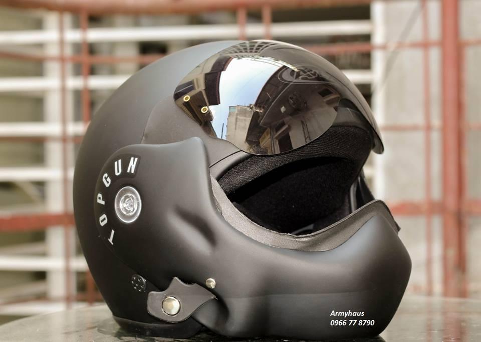 Mũ bảo hiểm Topgun lật hàm