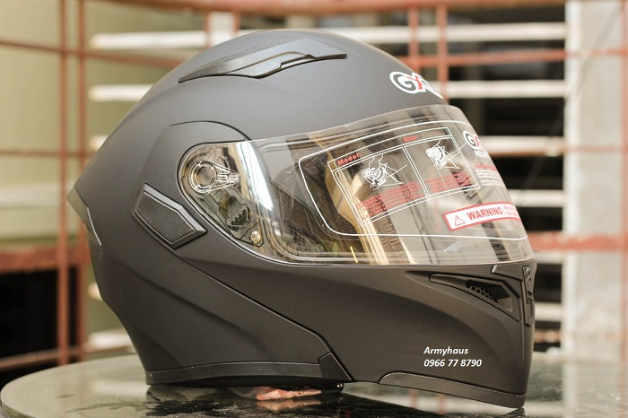 mũ bảo hiểm fullface 2 kính