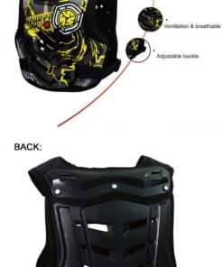 Cáu tạo chi tiết của áo khóac bảo hộ xe máy