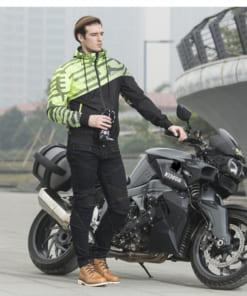 Áo khoác bảo hộ mùa đông dành cho xe máy, moto Scoyco jk61