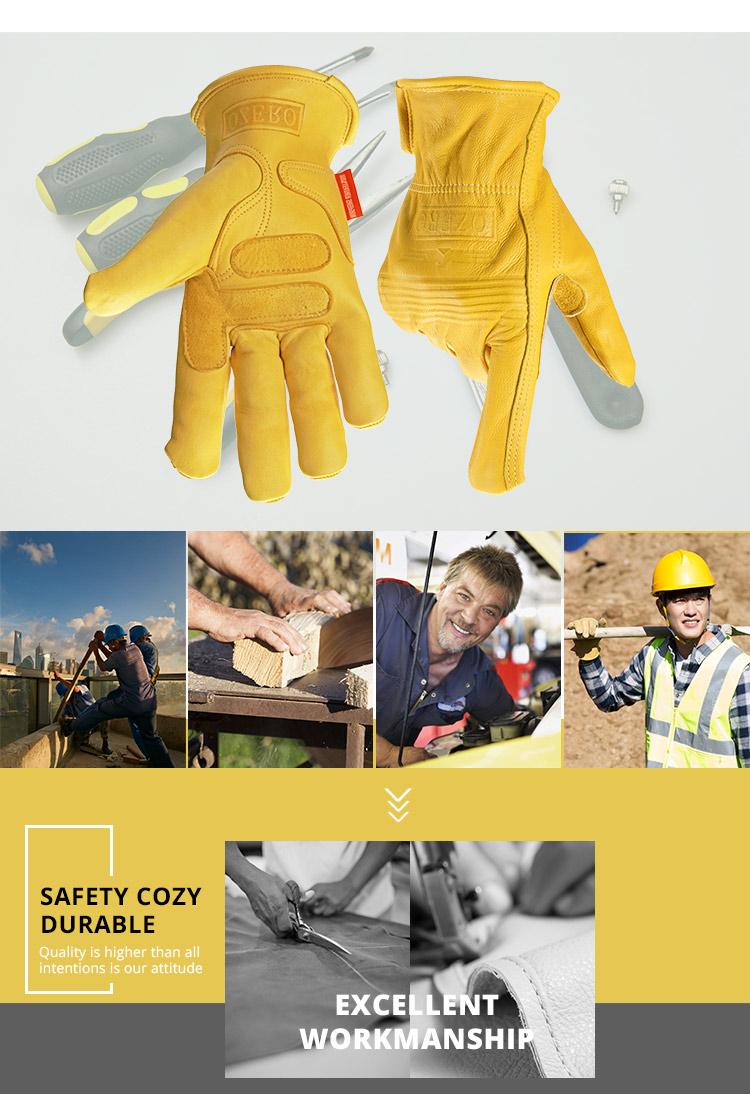 găng tay da OZERO-5011