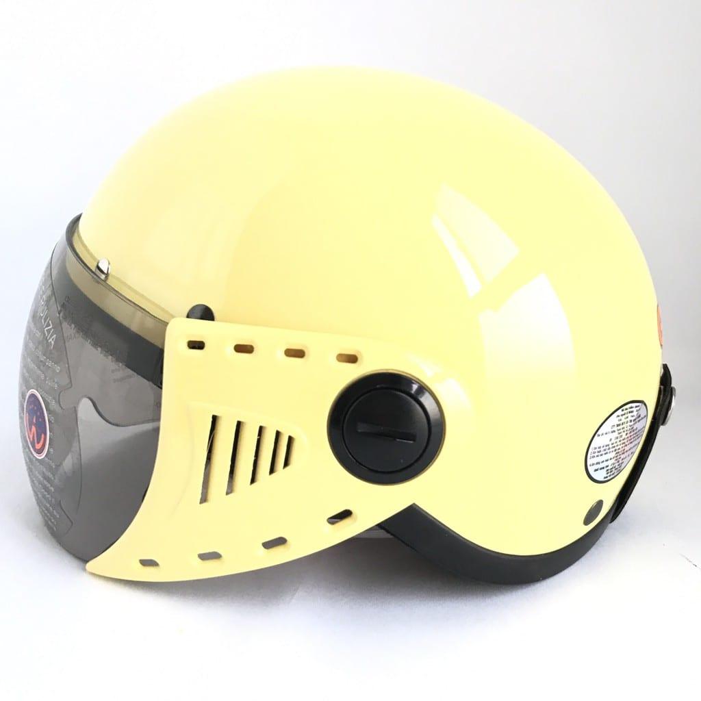 Mũ bảo hiểm xe điện GRS A08K nửa đầu